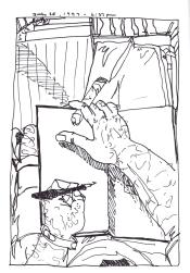 Sketchbooks K 10 - Porch - Home - Dunkirk, NY