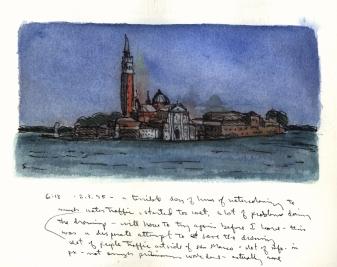 Sketchbooks L 18 - Venice, Italy -1995
