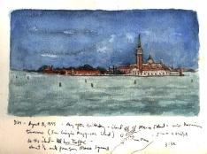 Sketchbooks L 19 - Venice, Italy