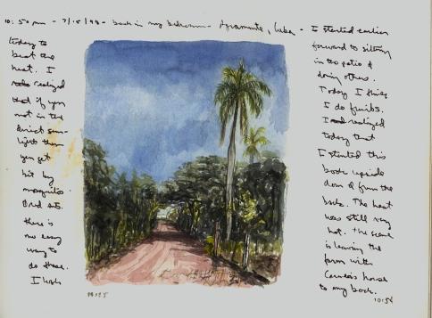 Sketchbooks Q 10 - Pepe's Farm - Agramonte, Cuba