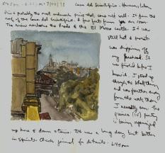 Sketchbooks Q 3 - Casa del Cientifico - Havana, Cuba