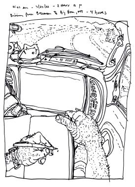 Sketchbooks S 6 - In Van - Montana